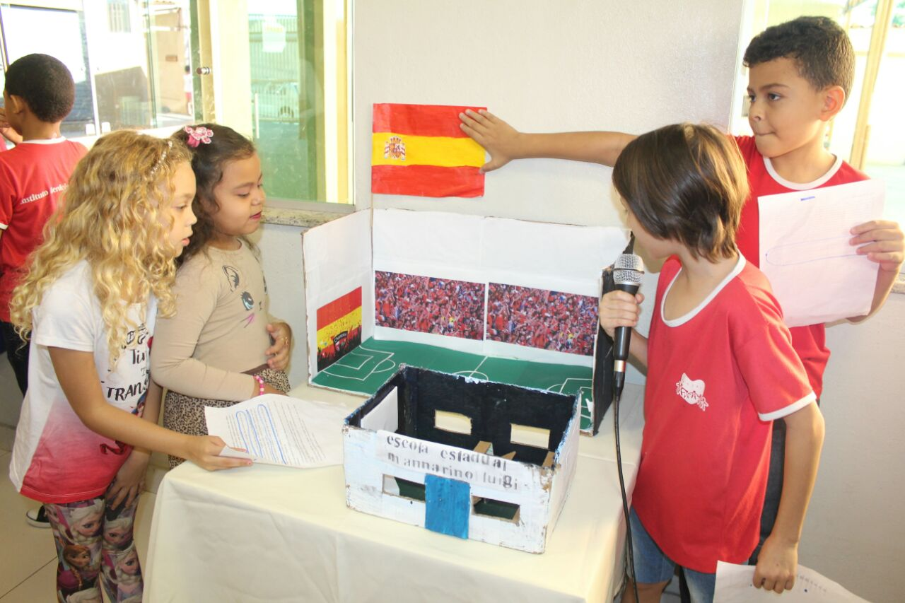 Oficina da Família - Apresentação dos projetos das Crianças